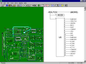 display fabmaster pcb and mentor graphics along with altium designer eaglecad ipc-d-356